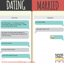 marie o'neill illustrator memes marriage