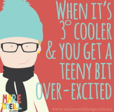 marie o'neill illustrator memes winter