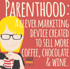 marie o'neill illustrator memes parenthood