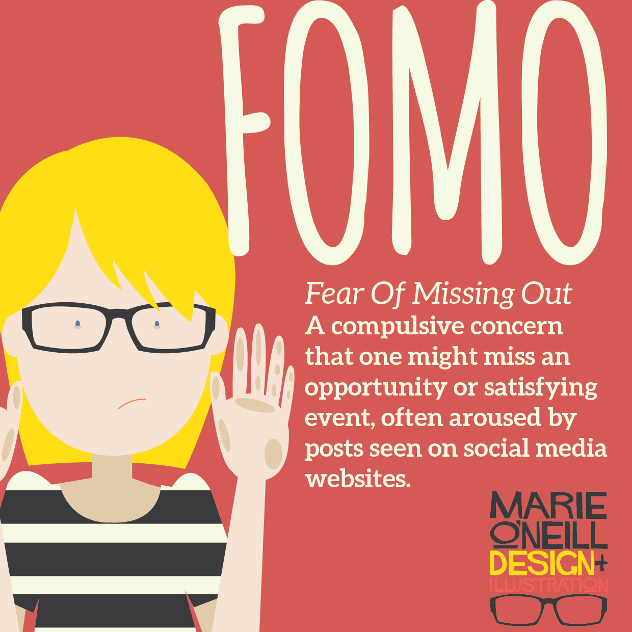 Fomo and me my problogger experience marie o neill design